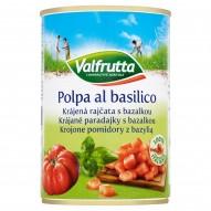Valfrutta Krojone pomidory z bazylią 400 g