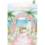 Karnet ślub plaża