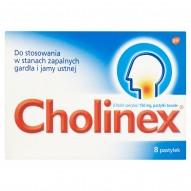 Cholinex 150 mg Pastylki twarde 8 pastylek