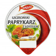 GRAAL Paprykarz szczeciński z łososiem 130 g
