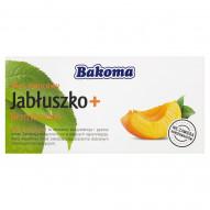 Bakoma Mus owocowy Jabłuszko + Brzoskwinia 200 g (2 sztuki)