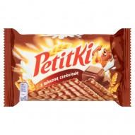 Petitki Herbatniki z mleczną czekoladą 111 g