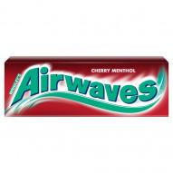 Airwaves Cherry Menthol Guma do żucia bez cukru 14 g (10 drażetek)