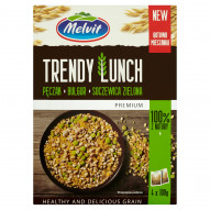 Melvit Premium Trendy Lunch pęczak bulgur soczewica zielona 400 g (4 torebki)