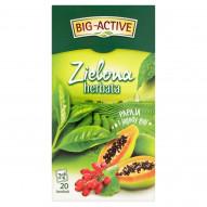 Big-Active Zielona herbata papaja i jagody goji 34 g (20 torebek)