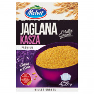 Melvit Premium Kasza jaglana 400 g (4 torebki)