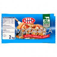 Mlekovita Ser Mozzarella do pizzy zapiekanek sałatek 2 kg