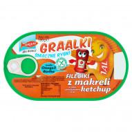 GRAAL Graalki Smaczne rybki Fileciki z makreli w sosie pomidorowym a'la ketchup 100 g