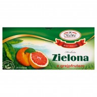 Malwa Herbata zielona z grejpfrutem 40 g (20 torebek)