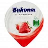 Bakoma Premium Jogurt z truskawkami 140 g
