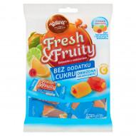 Wawel Fresh & Fruity Galaretki z nadzieniem bez dodatku cukru 120 g