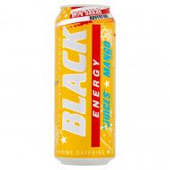Black Energy Gazowany napój energetyzujący o smaku mango 500 ml