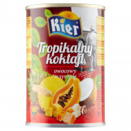 Kier Tropikalny koktajl owocowy w syropie 425 g