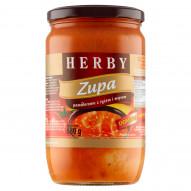 Herby Zupa pomidorowa z ryżem i mięsem 680 g