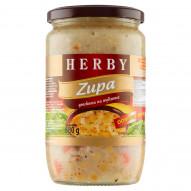 Herby Zupa grochowa na wędzonce 680 g