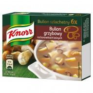 Knorr Bulion szlachetny grzybowy na borowikach leśnych 60 g (6 kostek)