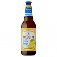 Okocim Biały Radler Piwo bezalkoholowe z lemoniadą o smaku cytrynowym 500 ml