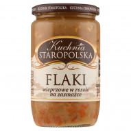 Kuchnia Staropolska Flaki wieprzowe w rosole na zasmażce 700 g