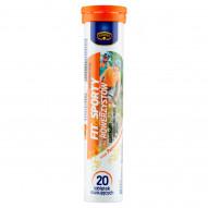 Krüger Fit&Sporty Suplement diety dla rowerzystów smak pomarańczowy 84 g (20 sztuk)