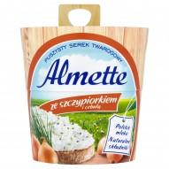 Almette ze szczypiorkiem i cebulą Puszysty serek twarogowy 150 g