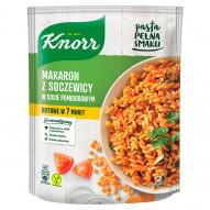 Knorr Makaron z soczewicy w sosie pomidorowym 143 g