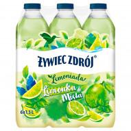 Żywiec Zdrój Lemoniada limonka & mięta 6 x 1,5 l