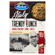 Melvit Gold Edition Italy Trendy Lunch kuskus perłowy dynia trufla 320 g (4 x 80 g)