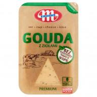 Mlekovita Ser gouda z ziołami premium 150 g