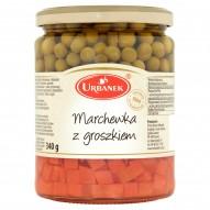 Urbanek Marchewka z groszkiem 520 g
