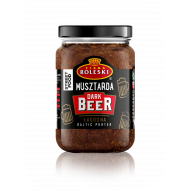 Roleski Musztarda Street Food Dark Beer 210g