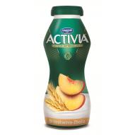 Danone Activia Brzoskwinia Ziarna zbóż Jogurt 195 g