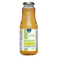 Oleofarm Sok z brzozy z dodatkiem soku z jabłek bez dodatku cukru 1000 ml