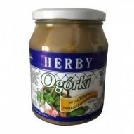 Herby Ogórki w zalewie musztardowej 700 ml
