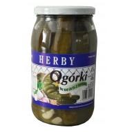 Herby Ogórki kwaszone 900 ml