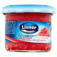 Lisner Kawior czerwony z ikry gromadnika 100 g